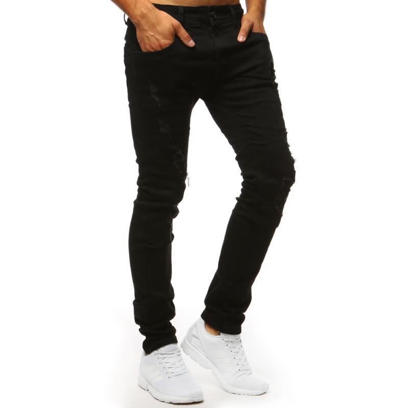 33d9d9d2a1 Pánske STYLE jeansy čierne