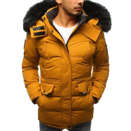 Pánska zimná bunda WINTER žltá
