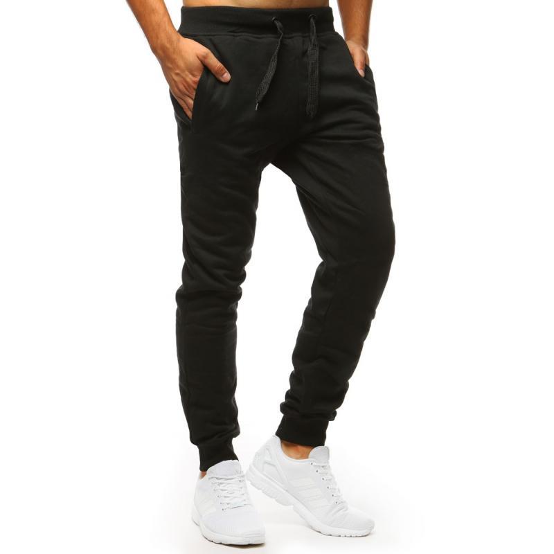 07b5f5099dd3 Pánske nohavice STYLE tepláky čierne