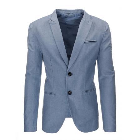 9001c45ae Elegantné pánske pohodlné sako v modrej farbe