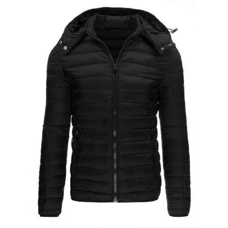 Pánska štýlová zimná bunda čierna