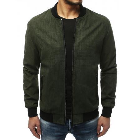 Pánska bunda bomber jacket zelená TX3185