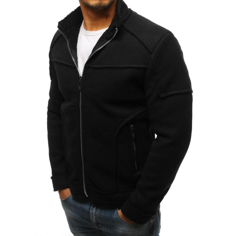 Čierny pánsky kabát  c3e25f1c38d