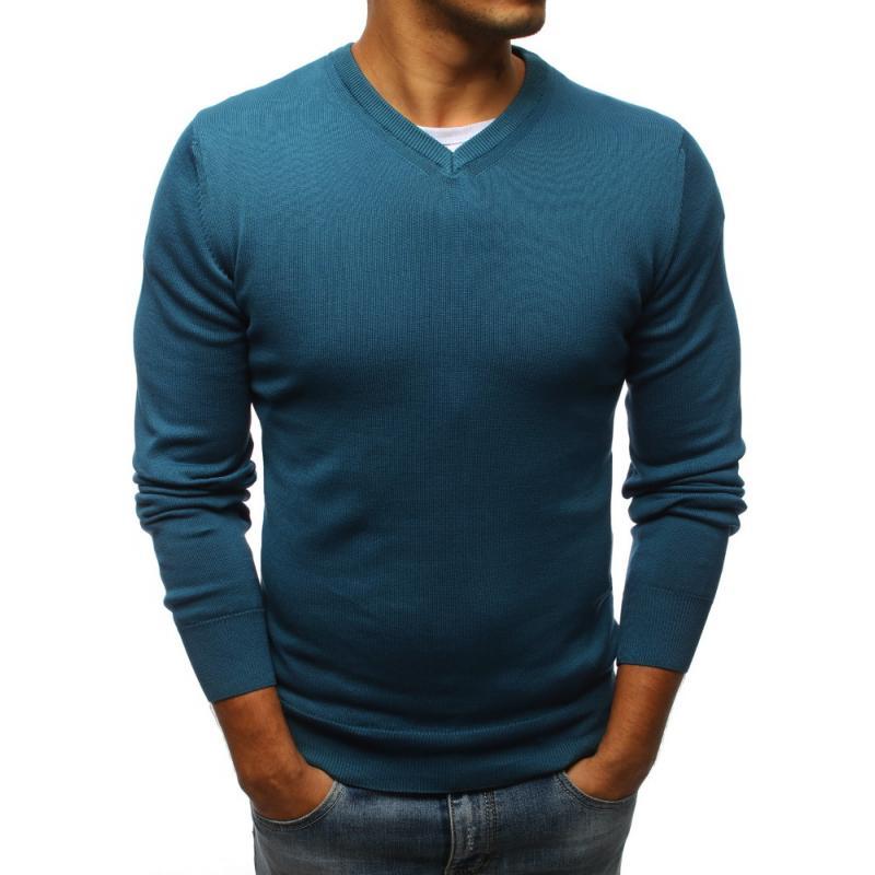 5b25fdb4616d Pánsky sveter STYLE modrá