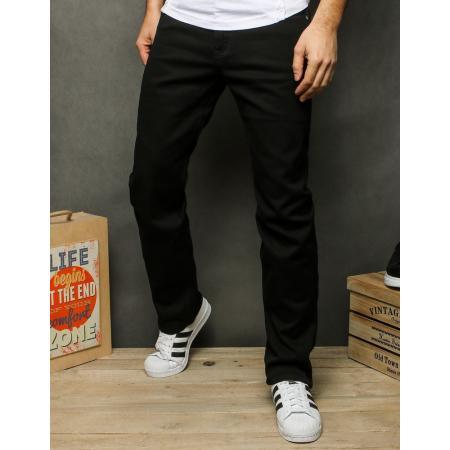 Pánske jeansy čierne UX2517