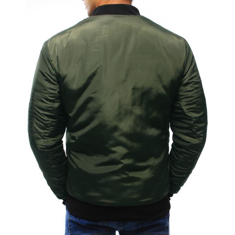 6272020f224c Pánska bunda bomber jacket zelená