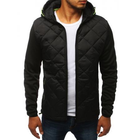 Pánska bunda prechodová jesenná / jarná športové čierna