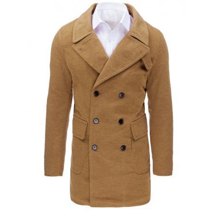 Hnedý panský zimný kabát