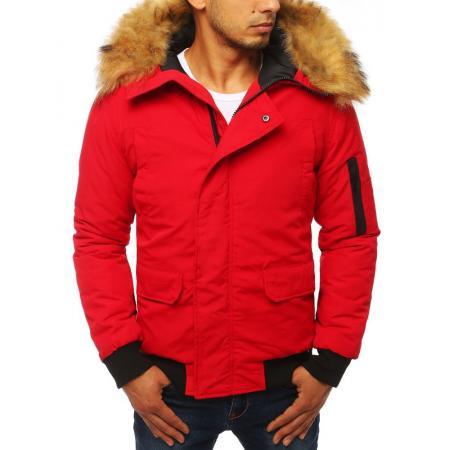 Zimná pánska bunda WINTER červená