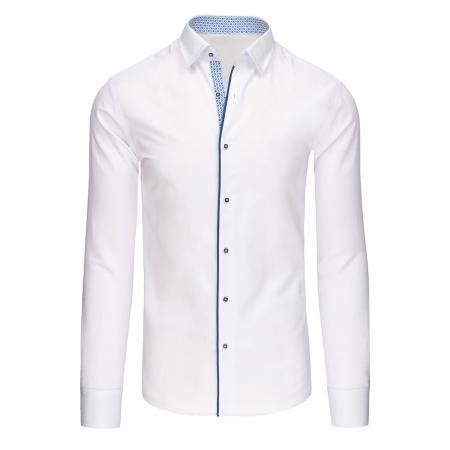 2ec136195c55 Pánska štýlová košele bílá