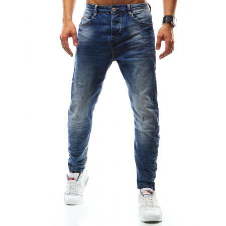 Pánske jeansové nohavice modrej