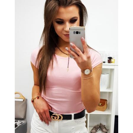 Dámske tričko jednofarebné ružové