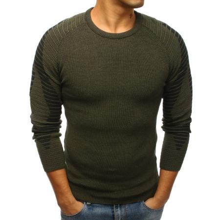Pánsky sveter zelený STYLE