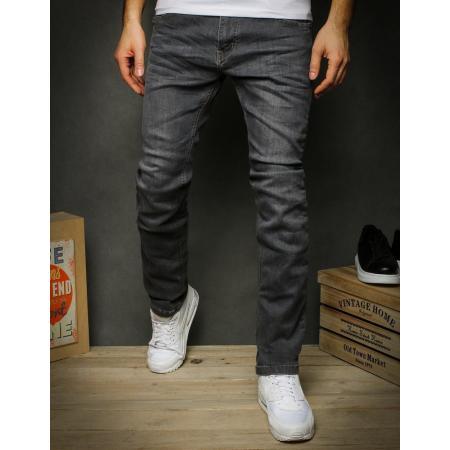 Pánske jeansy šedé UX2324