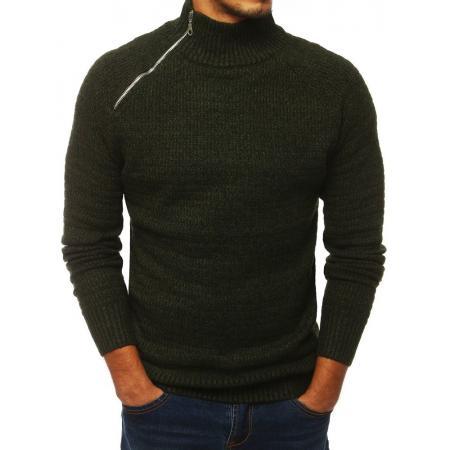 Pánsky štýlový sveter zelený