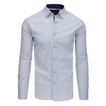 Pánska košeľa s dlhým rukávom biela