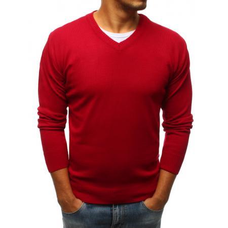51596dcd1598 Pánsky červený sveter