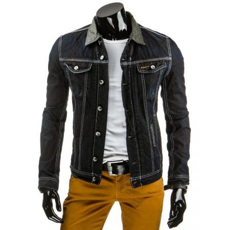 Pánska štýlová jeansová (džínsová) bunda