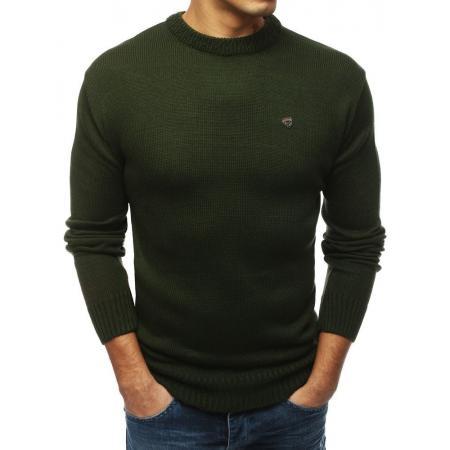 Pánsky MODERN sveter khaki