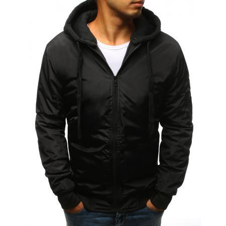 Pánska STYLE bunda bomber jacket čierna