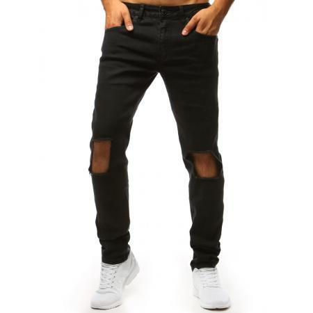 Pánske jeans nohavice STYLE čierne